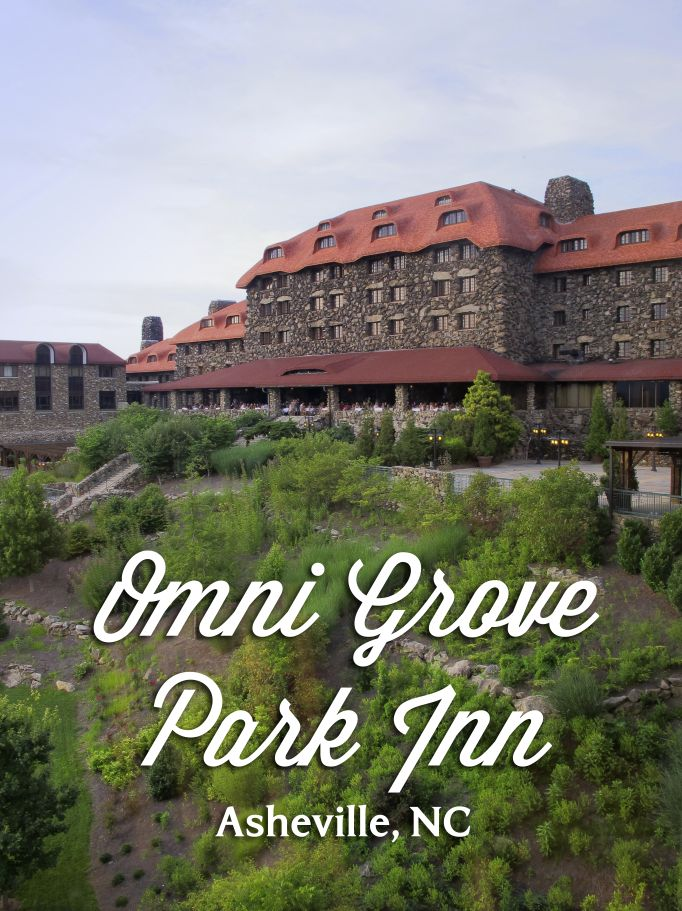 Experience the Omni Grove Park Inn in Asheville for a one-of-a-kind Blue Ridge Mountains getaway. #visitnc