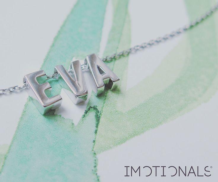 Unieke naamkettingen | Unique name jewelry | www.imotionals.nl