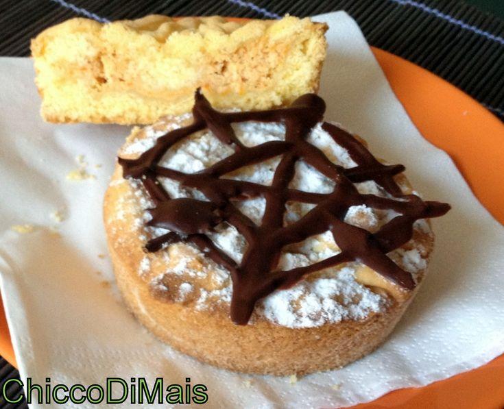 Mini crostata di zucca ricetta per Halloween il chicco di mais http://blog.giallozafferano.it/ilchiccodimais/mini-crostata-di-zucca-ricetta-per-halloween/
