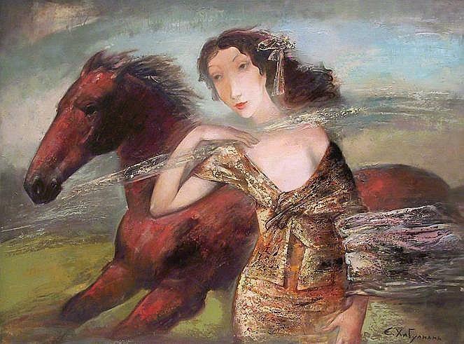 Amazone by Emzar Khabuliani (b1963; Tbilisi, Georgia)
