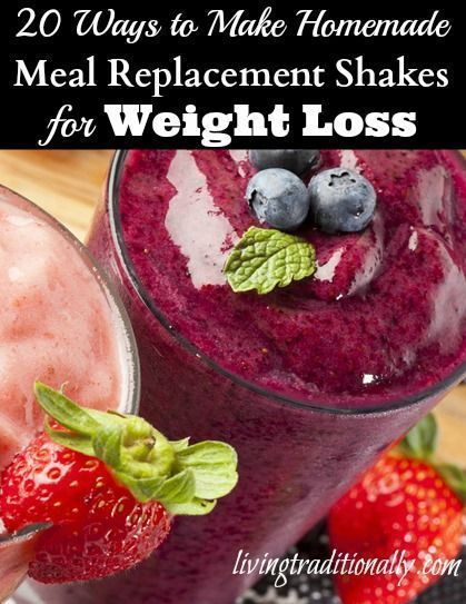 20 Ways to Make Homemade Meal Replacement Shakes for Weight Loss | Health gurug - Complete Meal Shakes --> http://cocolaid.com