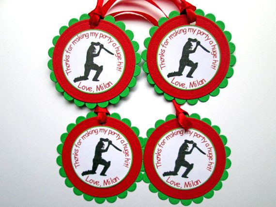20 Personalized Cricket Gift Tags Cricket by DreamsByTheRiver
