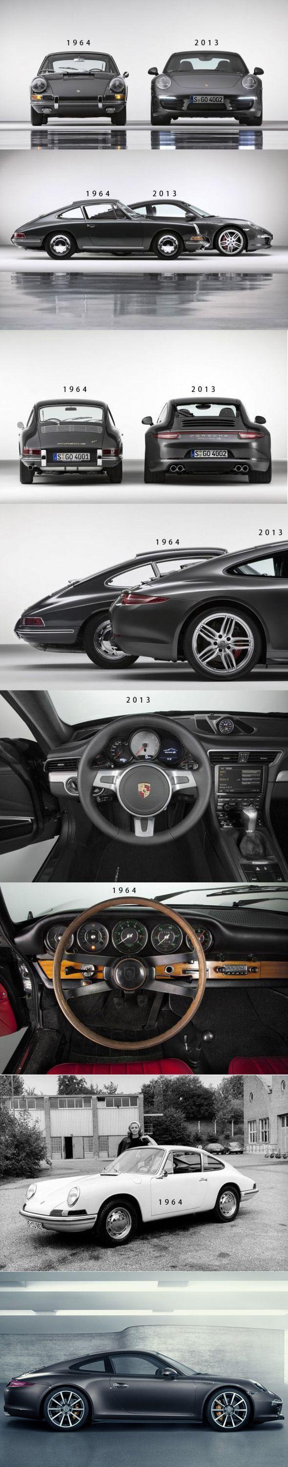 911 vs 911. Bonito cuando nació, espectacular esta última descendencia. Con cualquiera de los dos me conformaría #Porsche