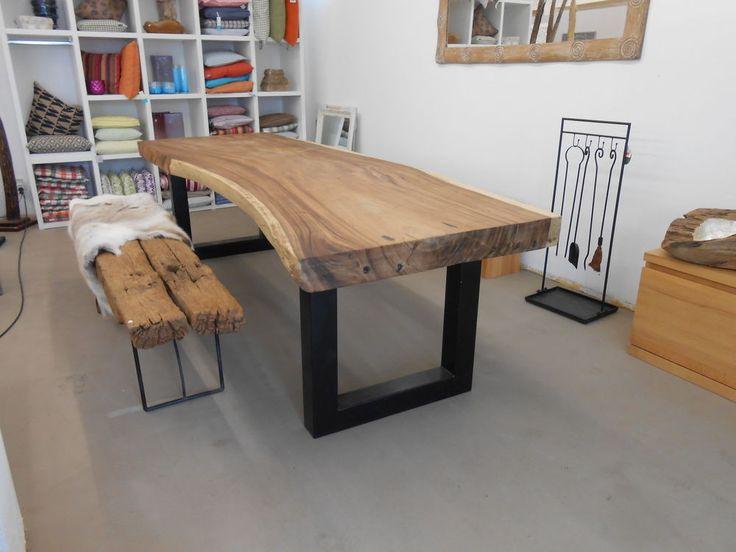 1000 ideen zu esstisch baumkante auf pinterest st hle. Black Bedroom Furniture Sets. Home Design Ideas