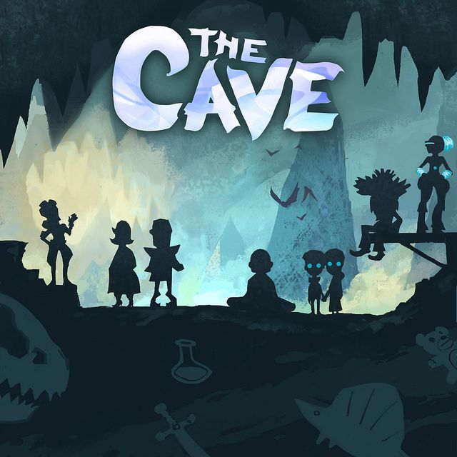 From the game The Cave. As a title screen I adore how the title font really stands out yet doesn't take away from the great artwork present. Really good use of layering here too.