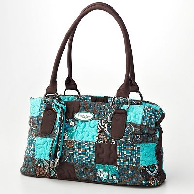 Donna Sharp Reese Quilted Patchwork Satchel From Kohls Looks Super Cute Would Love This My Style Pinterest Satchels And Purse