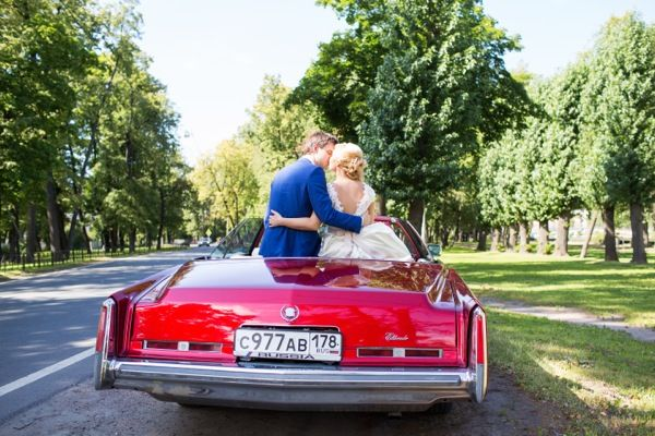 Свадебная машина. Кубинская свадьба от Wedkitchen