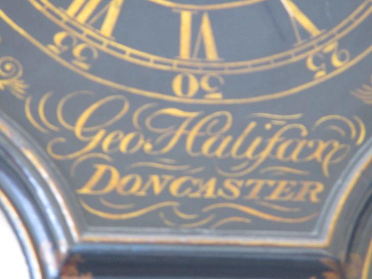 Act of Parliament clock (also known as 'Tavern Clocks').  Maker: George Halifax, Doncaster (b.1725, d.1811).  Georgian Kitchen, Culzean Castle.