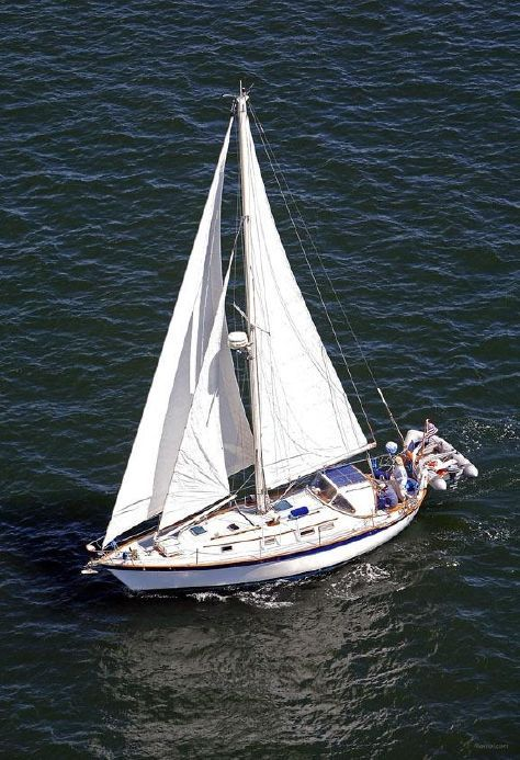 1984 Southern Cross Cutter Sail Boat For Sale - www.yachtworld.com