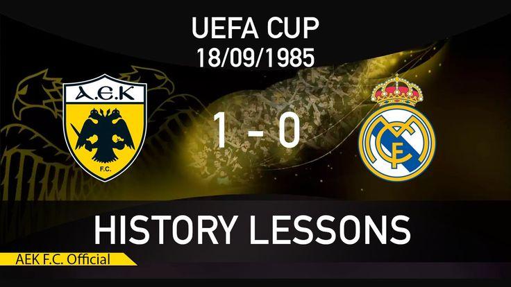 AEK FC  History Lessons