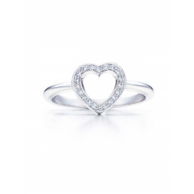 ... Rings Open Heart Diamonds 3842 New | Tiffany Engagement Rings Hong
