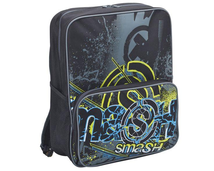 Static Black Square Backpack 9699