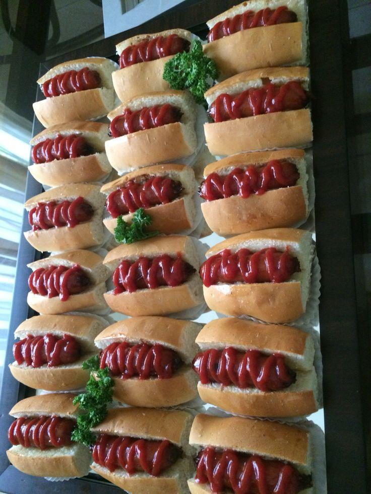 Mini hot dogs picaderas para fiestas de ni os o adultos for Cocina para fiestas