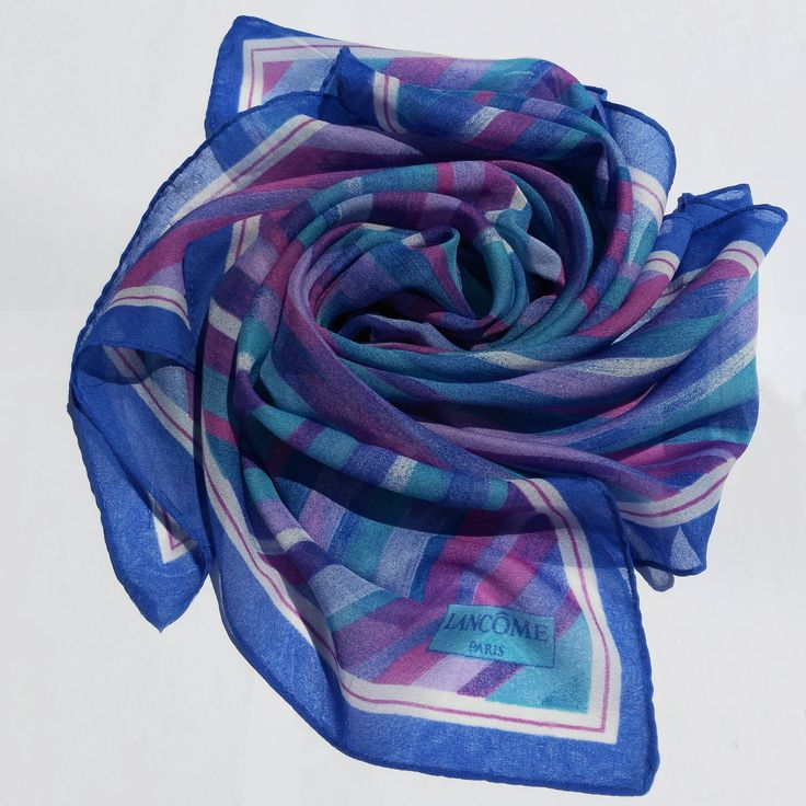 Vintage Lancôme scarf