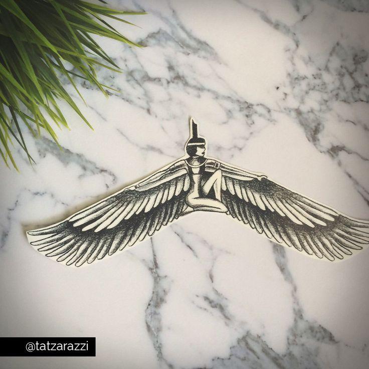ISIS ägyptische Magen Brust Stück realistische von Tatzarazzi
