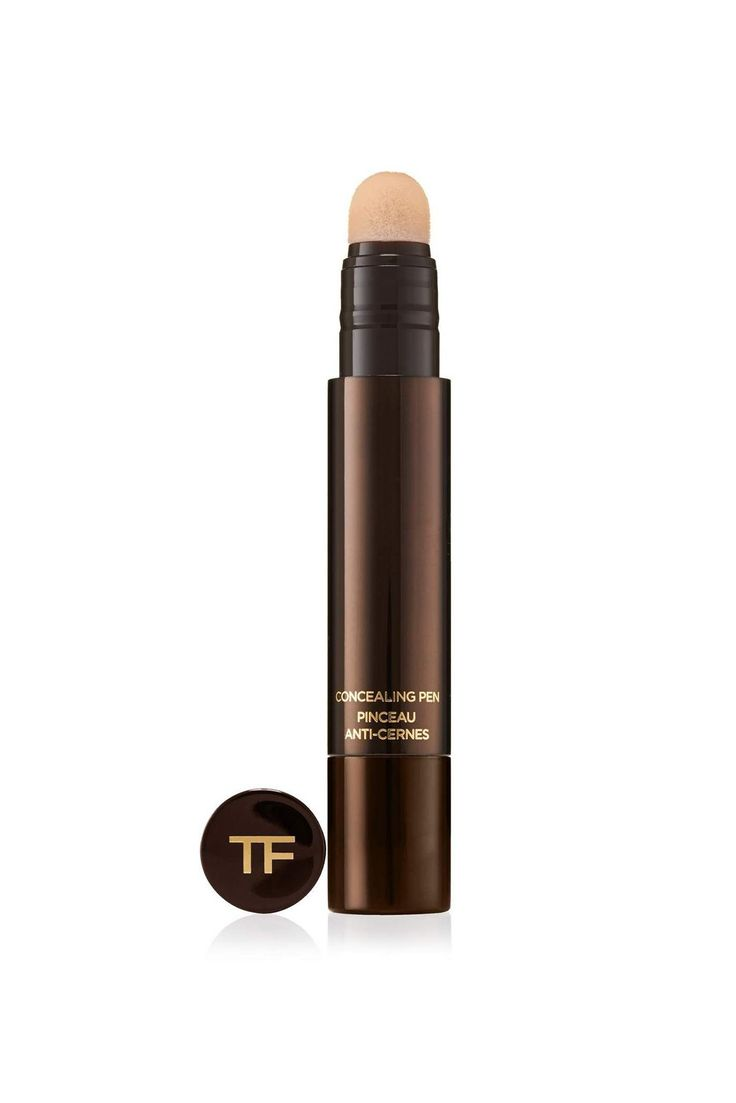 It's not new and it's not cheap, but it's genuinely one of the best. This concealer works just as well under the eyes as it does on redness and shadows around the mouth and nose. Plus, it won't cake or flake — ever. A judicious dab of this here and there might even be enough to skip your usual foundation altogether.Tom Ford Concealing Pen, $52, available at Nordstrom. #refinery29 http://www.refinery29.com/no-makeup-look-best-beauty-products#slide-7