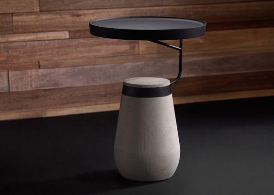 Andrea Pontis concrete Kanban table
