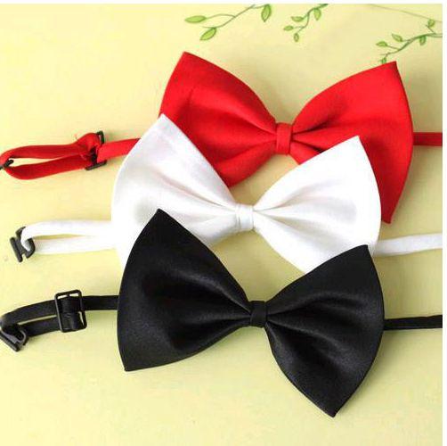 Британский стиль мужчины в официальный горошек смокинг свадьба галстук-бабочка галстук 8 цветов
