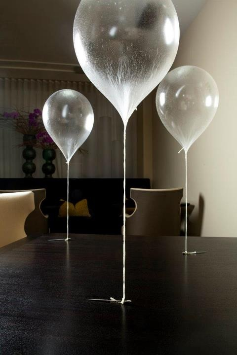 edible balloon dessert