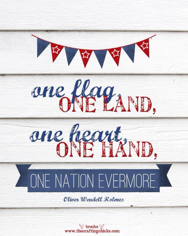 Free patriotic printable to inspire you this 4th of July!