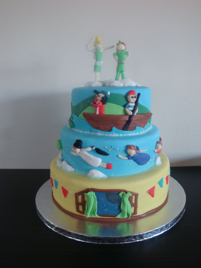 Cake made for my childrens combined birthday party.