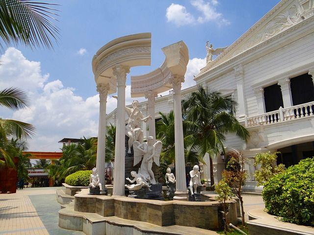 film city, architecture, building, bangalore