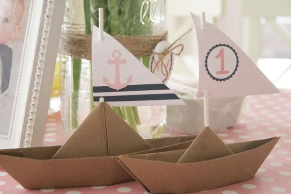 Sailor Girl Nautical Birthday Party Planning Ideas Decorations