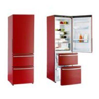 Réfrigérateur Haier AFL 631 CR (Rouge) pas cher : comparer les prix ! - Clubic