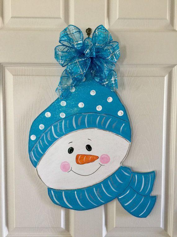 1000 id es sur le th me porte bonhomme de neige sur for Decoration porte bonhomme de neige