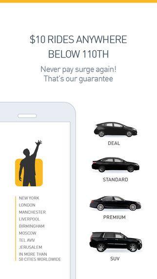 Gett (GetTaxi) - NYC Black Car Service & Taxi app by GT Get Taxi Ltd.