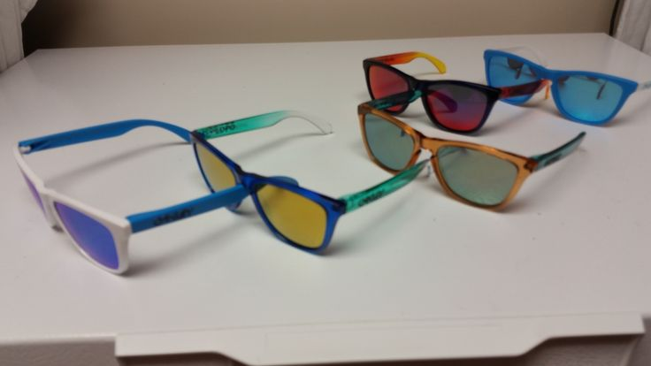 Spend this Monday getting Froggy with member SoulfulFrog: http://www.oakleyforum.com/threads/soulfulfrogs-brag-thread.50537/