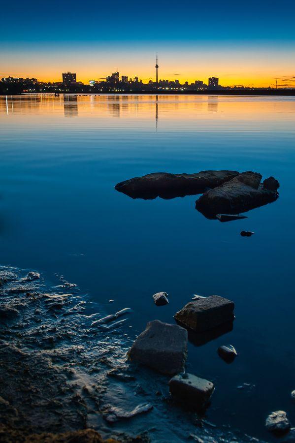 "500px / Photo ""Toronto Skyline Blue Hour"" by Insight Imaging John Ryan"