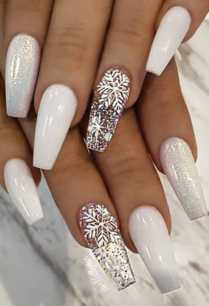 36+ Christmas Awesome Nails Design and Decoration! , Page 17