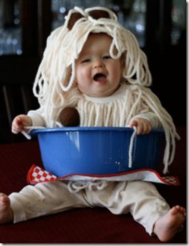 "baby ""bowl of spaghetti"" costume......is  this the cutest thing or what?!!!!"