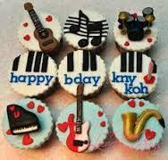 Afbeeldingsresultaat voor muziek cupcakes