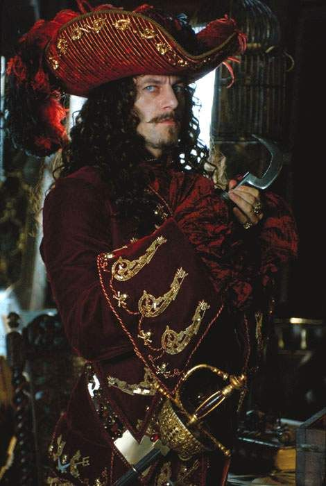 Jason Isaacs, Captain Hook - Peter Pan directed by P.J. Hogan (2003) Play by James Matthew Barrie #jamesmatthewbarrie #jmbarrie