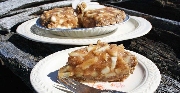 Tarte aux pommes crues, un délice gourmand santé !
