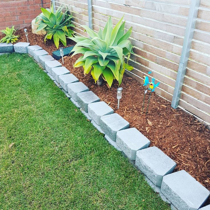 From nothing but dirt we turned this into a new outdoor space to utilise by adding instant turf block work edging relocated the Agarve with medium course mulch. . . . #landscaping #landscaper #landscape #garden #design #newturf #agarve #succulent #succulents #JewellLandscaping  #outdoors #outdoorliving