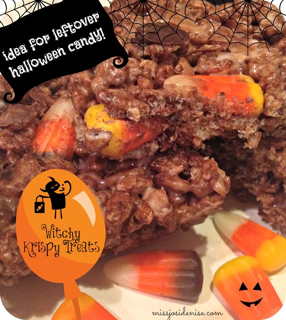 idea for leftover halloween candy easy recipe - Easy Halloween Candy Recipes