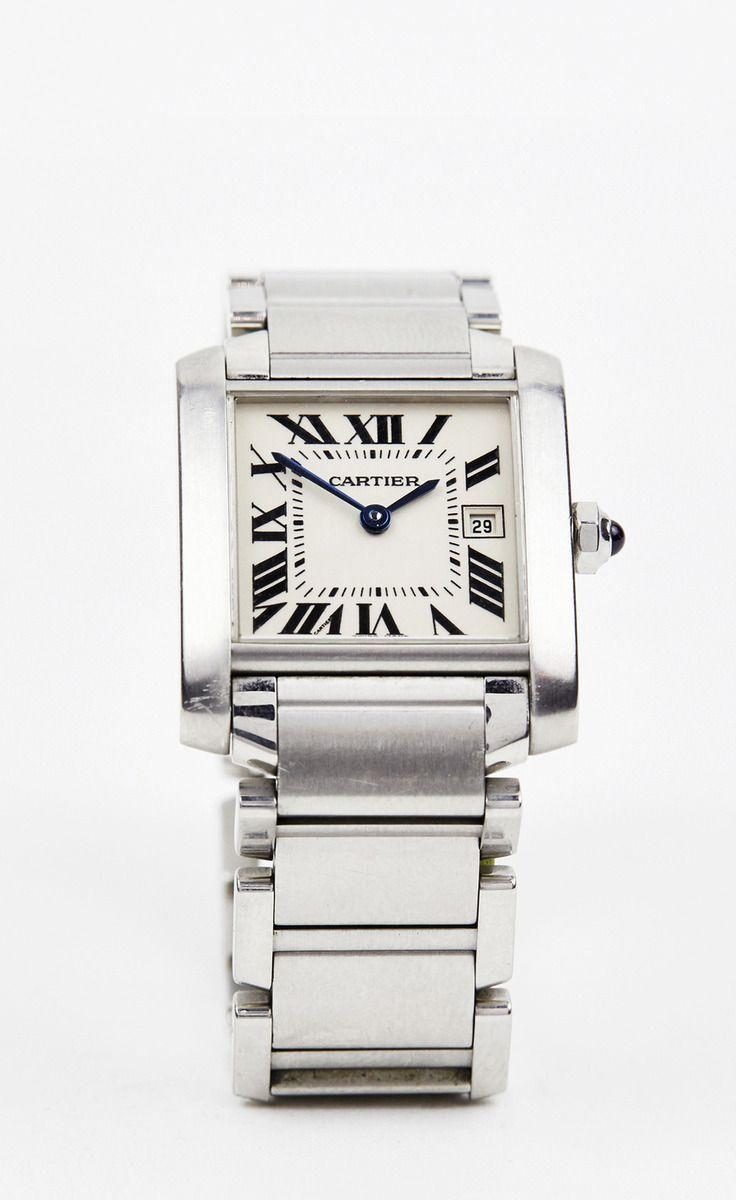 Cartier Silver Watch | VAUNTE