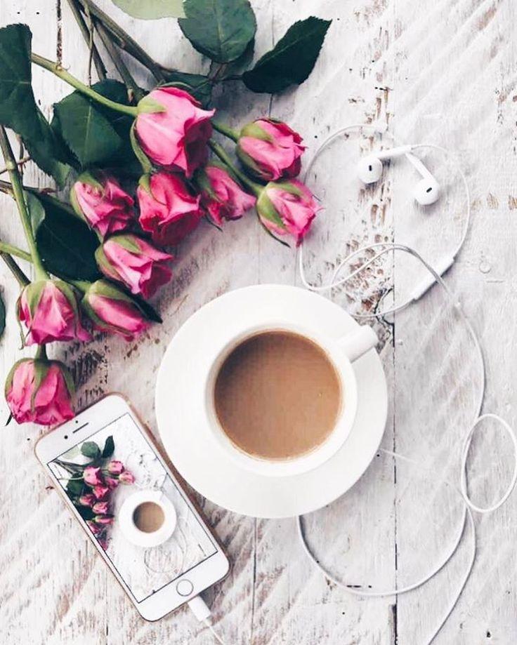"""310 Likes, 2 Comments - Екатерина Димитрова ✌️ (@katvondim) on Instagram: """"Making time for me ☕️ #vscosoft #vscocoffee #vscoflowers #vscodrink #vscoflower…"""""""