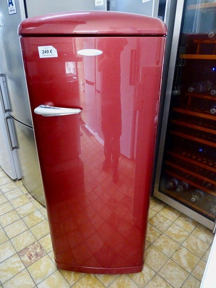eBay Sponsored Kühlschrank Gorenje Weinrot Retro in