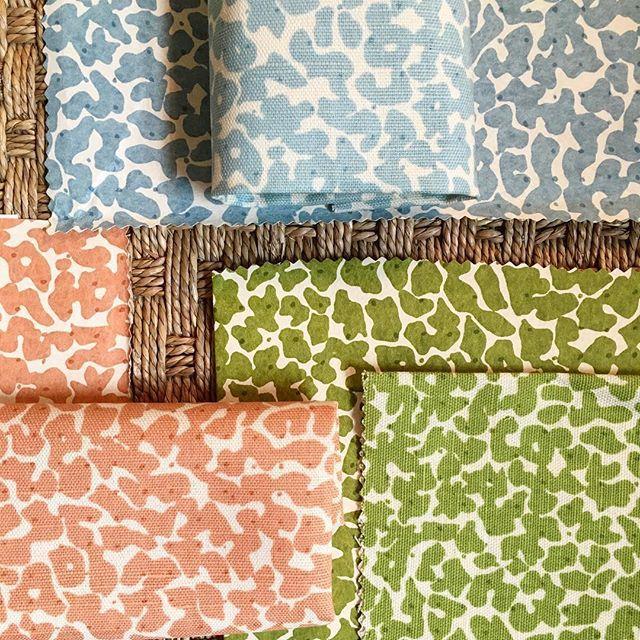 "Sister Parish ""Ollie"" fabric and wallpaper Fabric"
