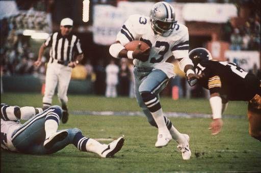 Tony Dorsett, Dallas Cowboys running back from 1977-1987