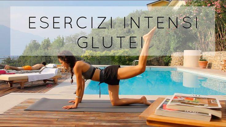 Esercizi intensi per Glutei - YouTube