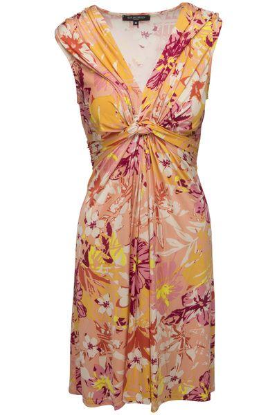 Orangeröd klänning från Ilse Jacobsen - Sommarklänningar