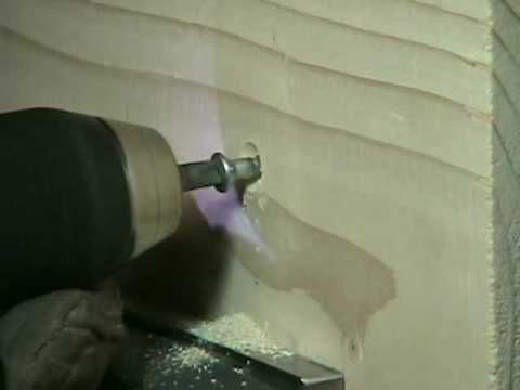 How to Countersink a Wood Screw - YouTube