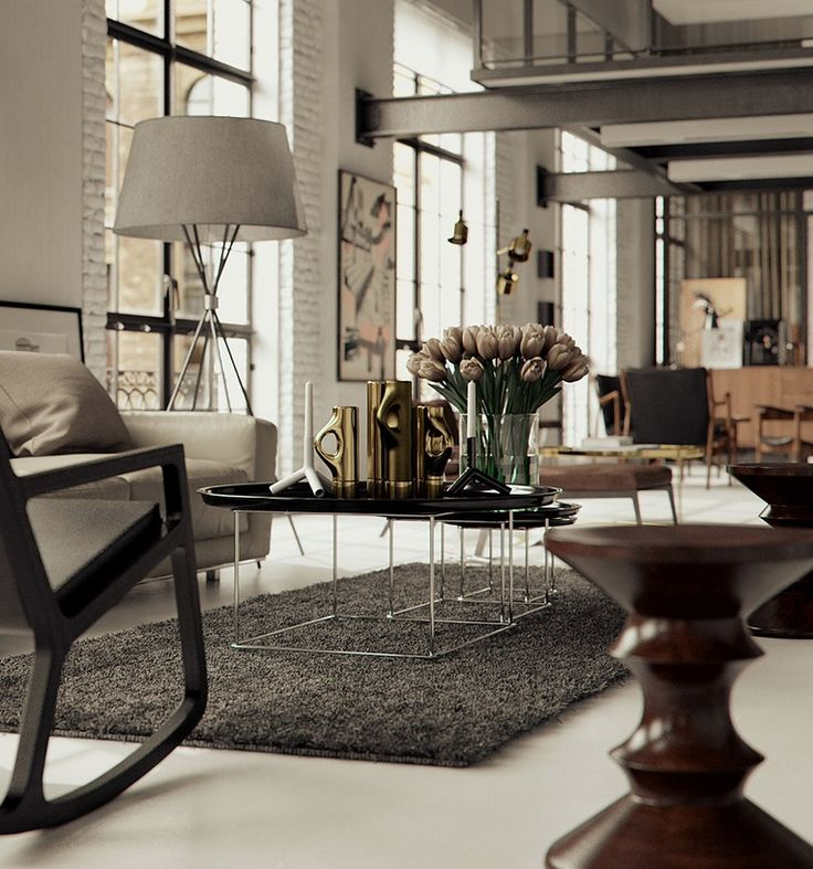 Beautiful chicago loft interior by bertrand benoit chicago loft interior by bertrand benoit homedsgn a daily source for inspiration and fresh ideas on