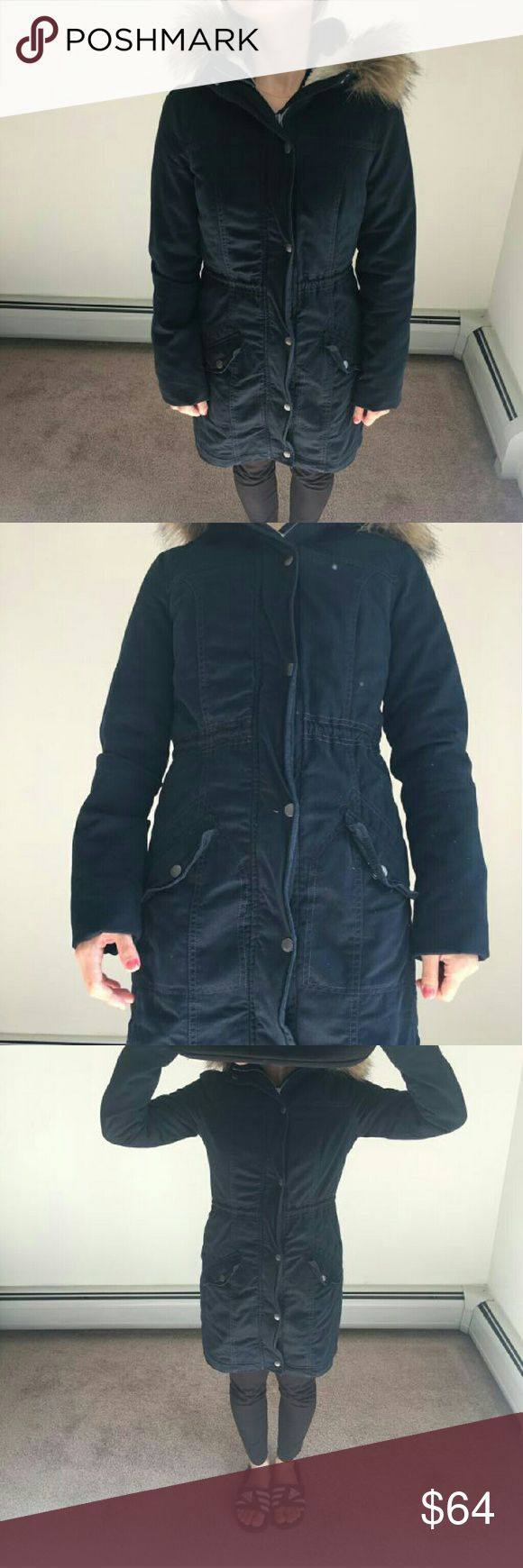 Hollister coat/jacket more pics about Hollister jacket it's navy Hollister Jackets & Coats