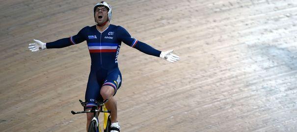 Cyclisme sur piste: François Pervis 6e fois champion du monde - L'Express